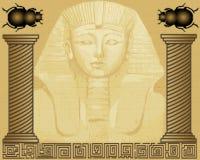 egipski pharaoh Fotografia Royalty Free