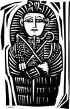 Egipski Sarkofag ilustracji