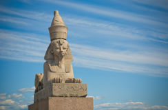 Egipski sfinks, Świątobliwy Petersburg Zdjęcia Royalty Free