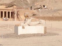 Egipski statuy miejsce Zdjęcia Stock