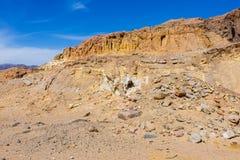 Egipskie góry i niebo Fotografia Royalty Free