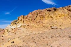 Egipskie góry i niebo Obrazy Stock