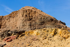 Egipskie góry i niebo Zdjęcie Stock