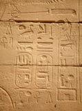 egipskie hieroglify Zdjęcie Royalty Free