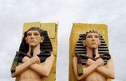 Egipskie mężczyzna statuy Obrazy Stock