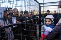 Egipskie władzy ponownie otwierać wyłącznego pasażerskiego skrzyżowanie między Gaza i Egipt w oba kierunkach dzisiaj zdjęcie royalty free