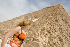 egipt巨大piramids 免版税库存图片