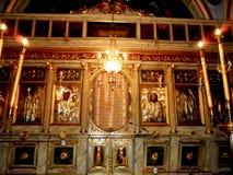 Egipt, Aleksandria, Stary Ortodoksalny kościół obraz royalty free