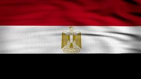 Egipt flaga 3d odpłacająca się zbiory wideo