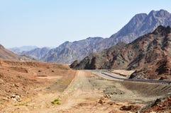 Egipt góry Synaj dezerteruje Zdjęcia Royalty Free