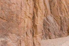 Egipt góry Synaj pustynia, Barwiony jar Obrazy Royalty Free