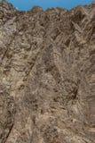 Egipt góry Synaj pustynia, Barwiony jar Zdjęcie Stock