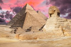 Egipt Kair, Giza - obrazy royalty free
