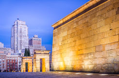 Egipt in Madrid Downtown Royalty Free Stock Photography