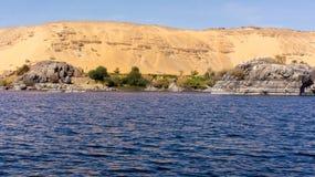 Egipt Nil rejs, ładny Zdjęcie Stock
