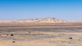 Egipt pustynia fotografia royalty free