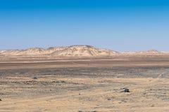 Egipt pustynia zdjęcie stock