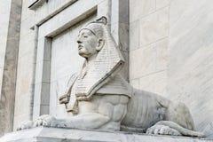 Egipt sfinksa statua obraz stock