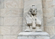 Egipt sfinksa statua fotografia stock