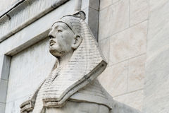 Egipt sfinksa statua fotografia royalty free