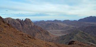 Egipt, Synaj góry Fotografia Stock