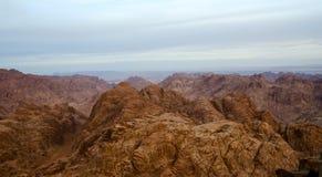 Egipt, Synaj góry Obraz Stock