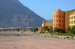 Egipt, Taba. Oaza w pustyni Fotografia Stock