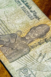 Egiptian Rechnung Stockbilder