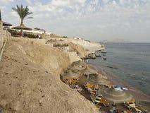 Egipto: acantilados rocosos del mar fotos de archivo libres de regalías