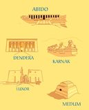 Egipto antigo ilustração stock
