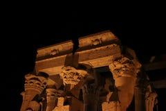 Egipto antiguo en anochecer Imagenes de archivo