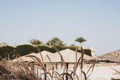 Egipto, centro turístico Fotos de archivo libres de regalías