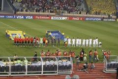 Egipto contra Paraguai - FIFA-U20 Worldcup Foto de Stock Royalty Free