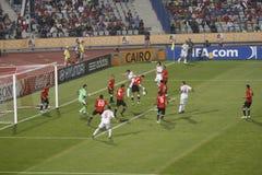 Egipto contra Paraguay - FIFA-U20 Worldcup Foto de archivo libre de regalías