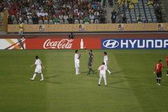 Egipto contra Paraguay - FIFA-U20 Worldcup Foto de archivo