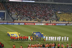 Egipto contra Paraguay - FIFA-U20 Worldcup Imagen de archivo