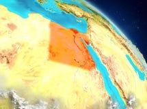 Egipto de la órbita ilustración del vector