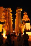 Egipto-Luxor Foto de Stock