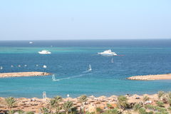 Egipto. Recurso de Hurgada fotos de stock royalty free