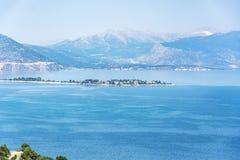 Egirdir Seelandschaft Isparta/die Türkei Stockbild