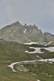 Egishorn. This photo shows the Egishorn and the cable car station on top of it Royalty Free Stock Photos