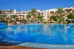 Egito, Mar Vermelho que ajardina o Sharm el-Sheikh Fotografia de Stock Royalty Free