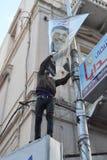 Egiziani che dimostrano contro Presidente Morsi Immagini Stock