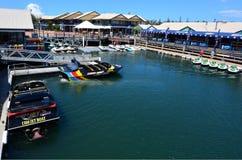 Żeglarz zatoczki złota wybrzeże Queensland Australia Zdjęcie Royalty Free