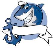Żeglarza rekin Zdjęcie Royalty Free