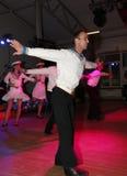 Żeglarza taniec bullseye wykonujący tancerzami, aktorzy ansambl St Petersburg twierdzi halę koncertową Obraz Royalty Free