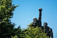 Żeglarzi Pomnikowi zdjęcia stock