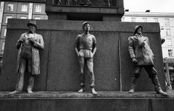 Żeglarzi pomnikowi w Bergen, Norwegia Zdjęcie Royalty Free