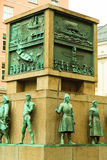 Żeglarzi Pomnikowi w mieście Bergen na Lipu 25, 2014 w Norwegia Obraz Stock