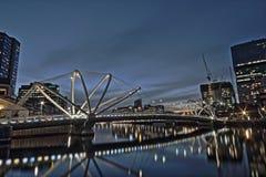 Żeglarzi Przerzucają most, Melbourne Obrazy Royalty Free